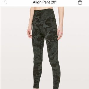 """Lululemon Align 28"""" leggings"""